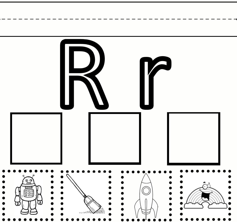 "Letter R Preschool Worksheets   Preschool Learning – Letter ""R - Free Printable Preschool Worksheets For The Letter R"