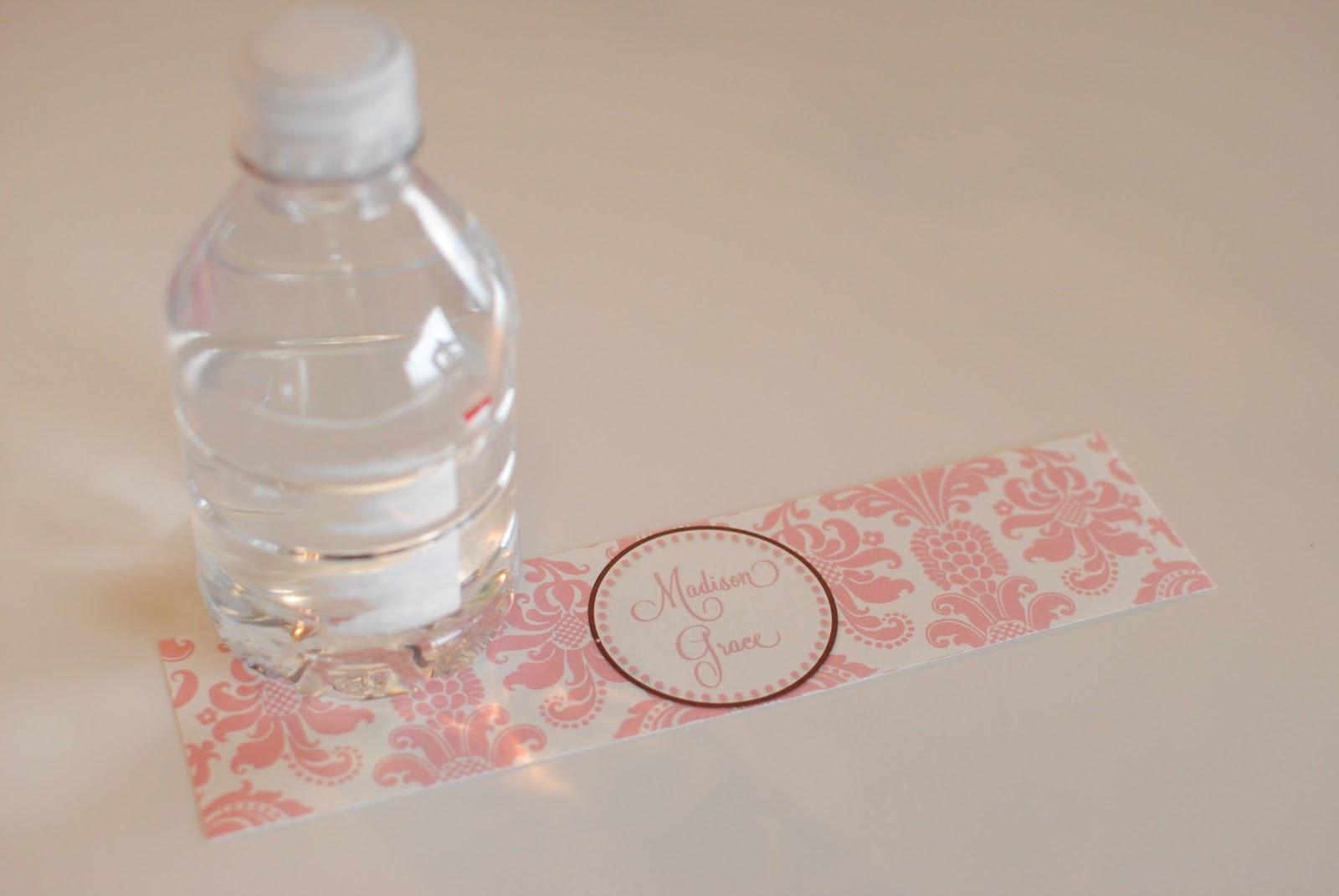 Life {Sweet} Life: Diy Printable Water Bottle Labels - Free Printable Baby Shower Labels For Bottled Water
