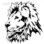 Lion Head Stencil   Halloween   Lion Clipart, Animal Stencil, Stencils   Free Printable Picture Of A Lion