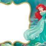 Little Mermaid Royal Invitation | Backgrounds | Little Mermaid   Free Little Mermaid Printable Invitations