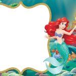 Little Mermaid Royal Invitation | Free Printable Birthday   Free Little Mermaid Printable Invitations
