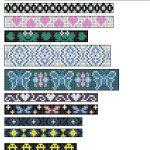 Loom+Beading+Patterns | Native American Split Loom Patterns: Free   Free Printable Loom Bracelet Patterns