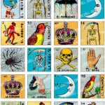 Loteria   Collage Sheet   Vintage Loteria Cards, Mexican Bingo, Day   Loteria Printable Cards Free