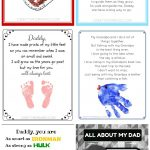Lots Of Free Father's Day Printables For The Kids To Make Dad Or   Free Printable Fathers Day Poems For Preschoolers