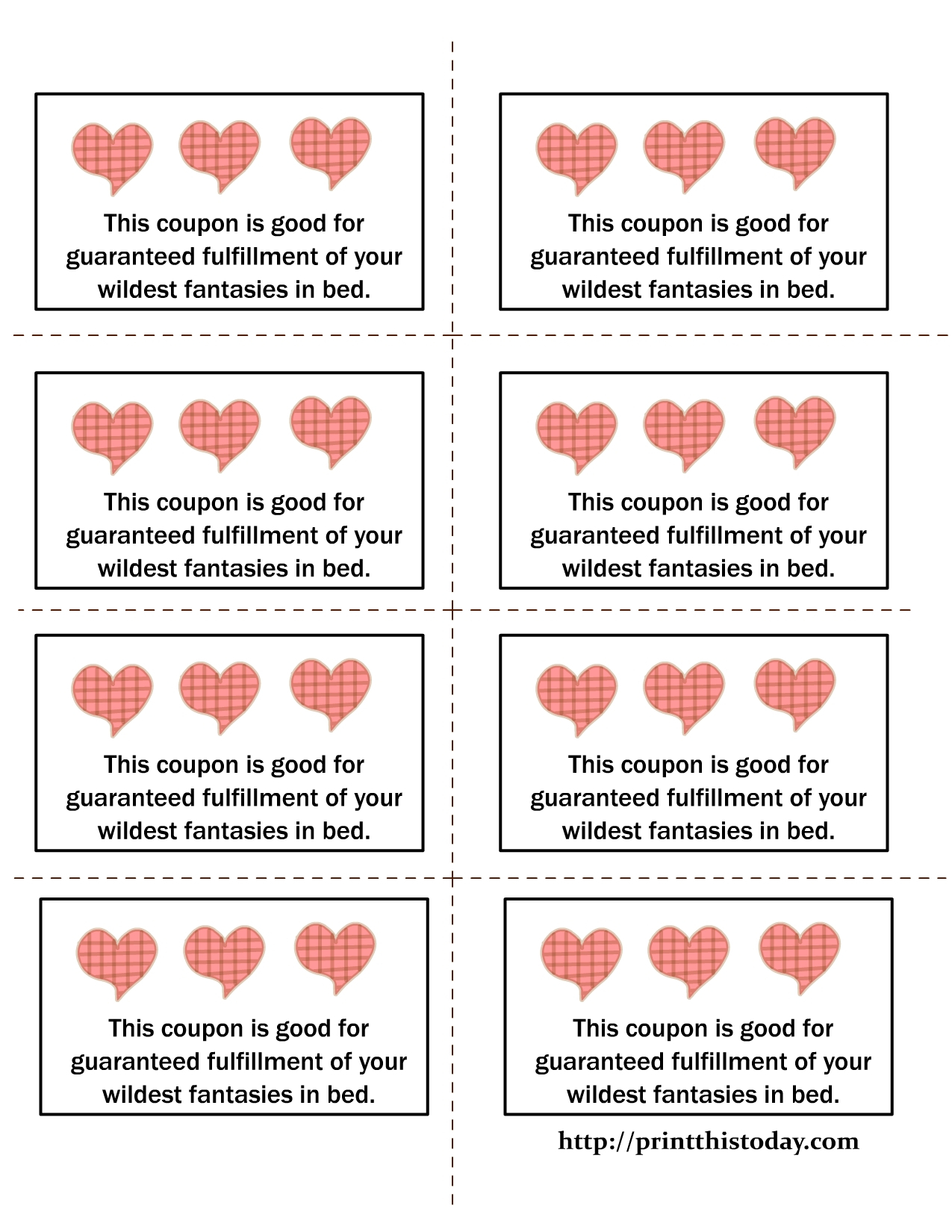 Love Coupon Template Microsoft Word | Examples And Forms - Free Sample Coupons Printable