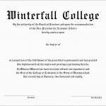 Lovely Free Fake High School Diploma Templates | Best Of Template   Free Printable College Degrees