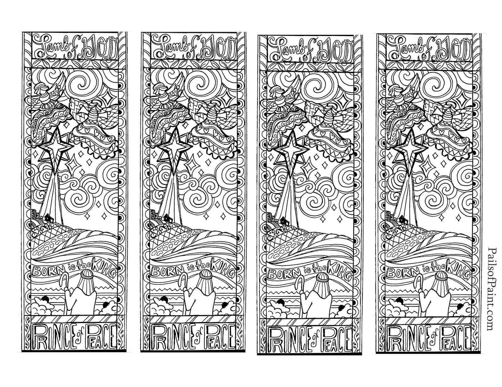 Lovely Printable Christmas Bookmarks – Jvzooreview - Free Printable Christmas Bookmarks To Color