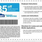Lowes Coupons – Download & Print   Lowes Coupon Printable Free