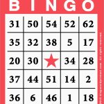 Luxury Bingo Card Template Free | Best Of Template   Free Printable Bingo Cards 1 75
