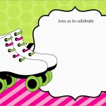 Luxury Skating Party Invitation Template Free | Best Of Template   Free Printable Skateboard Birthday Party Invitations