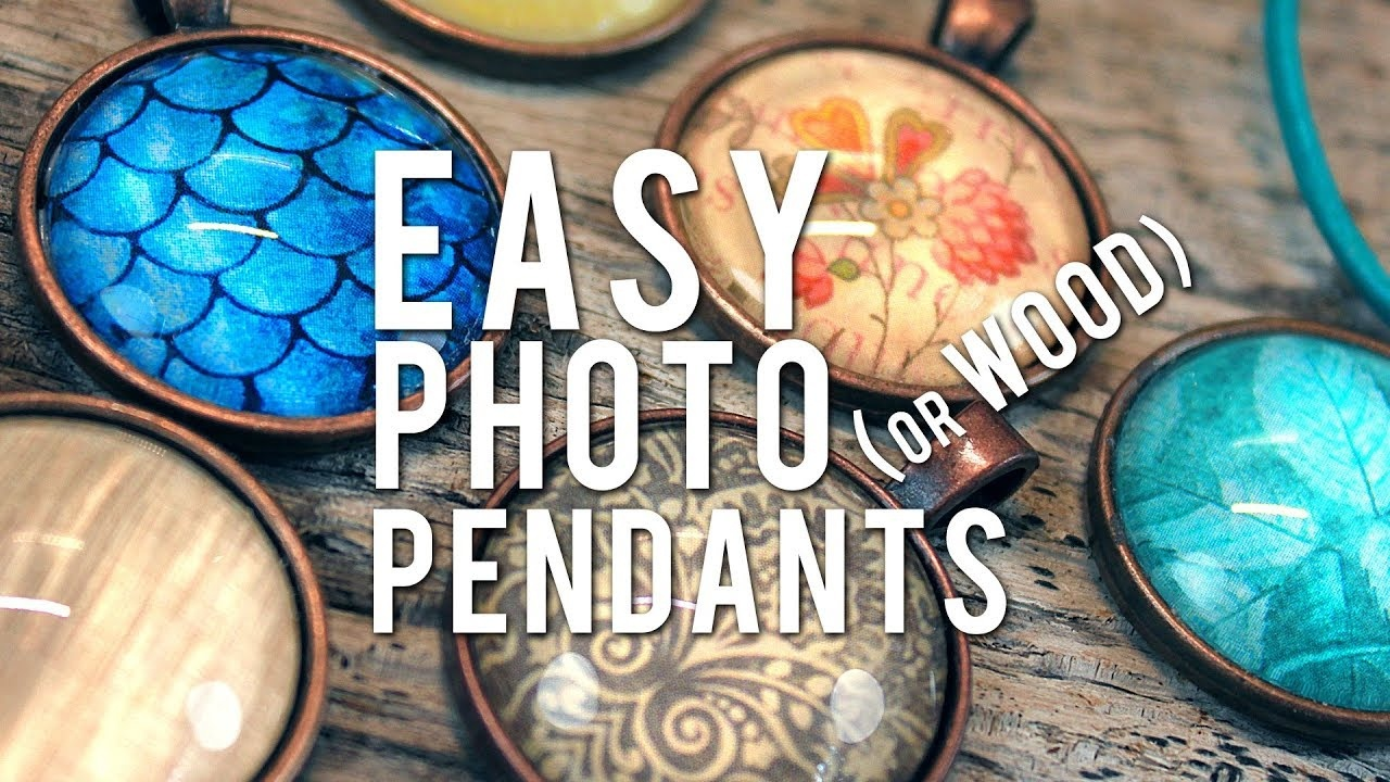 Make Glass Photo Pendants - Easy How-To Cabochon Necklace - Youtube - Free Printable Cabochon Templates