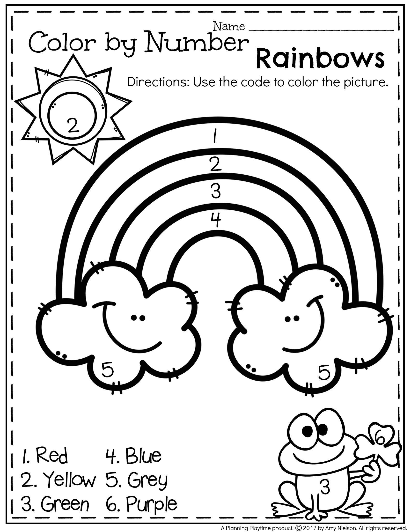 March Preschool Worksheets   Preschool Spring/summer   Preschool - Free Printable March Activities