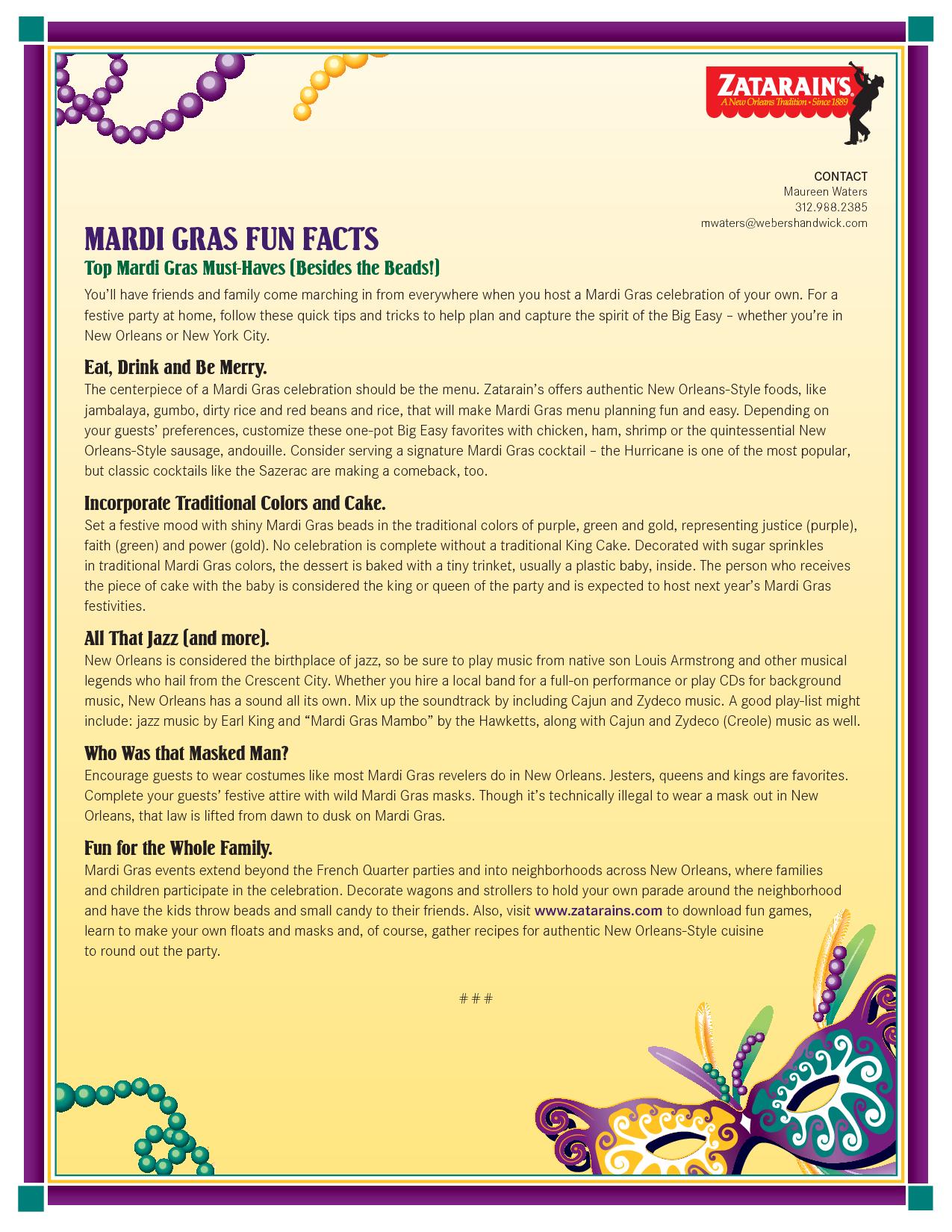 Mardi Gras Trivia. Mardi Gras Masks | Family | Mardi Gras Party - Free Printable Mardi Gras Games
