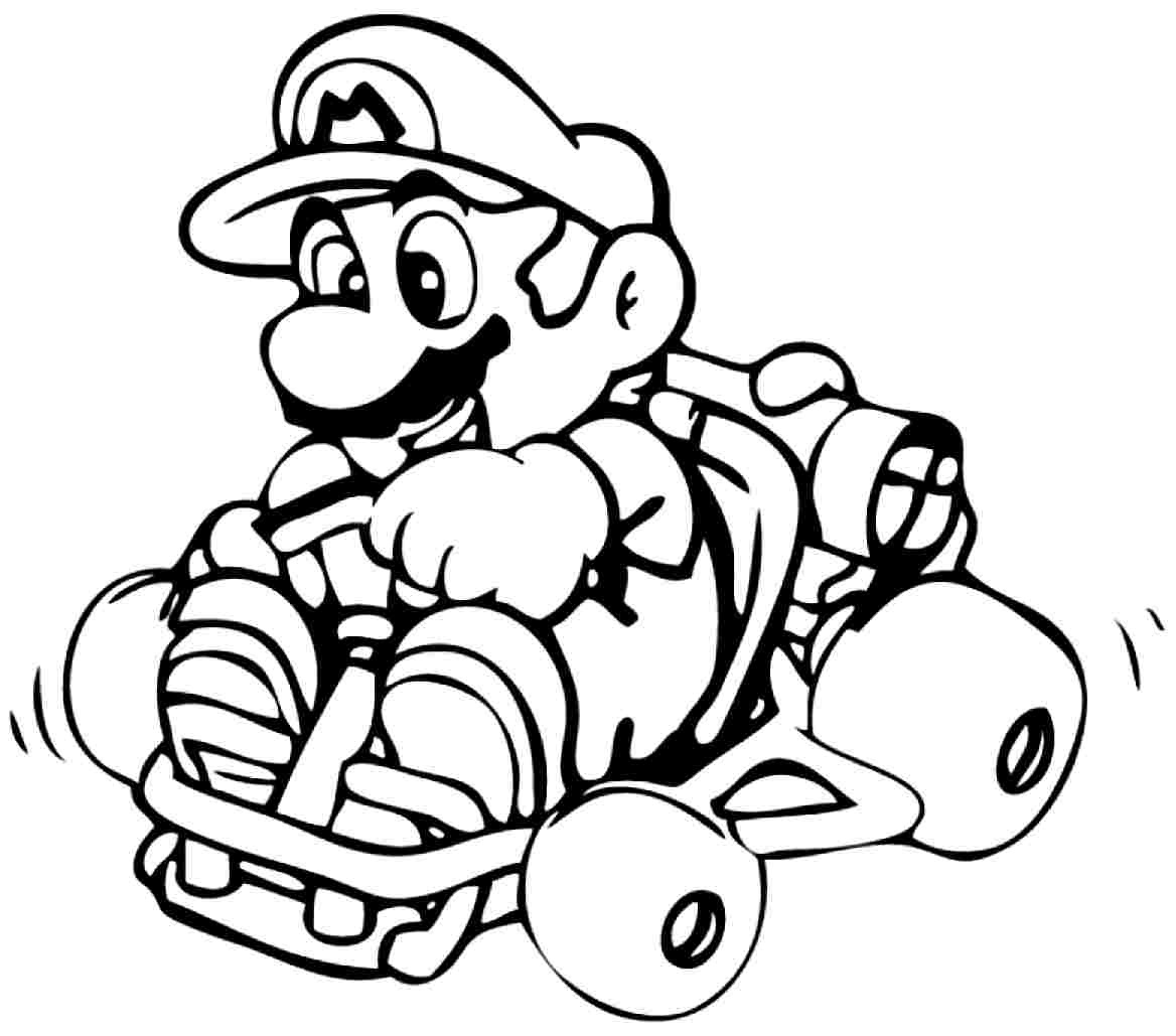 Mario Coloring Pages | Free Download Best Mario Coloring Pages On - Mario Coloring Pages Free Printable