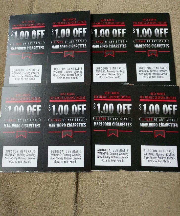 Free Printable Cigarette Coupons