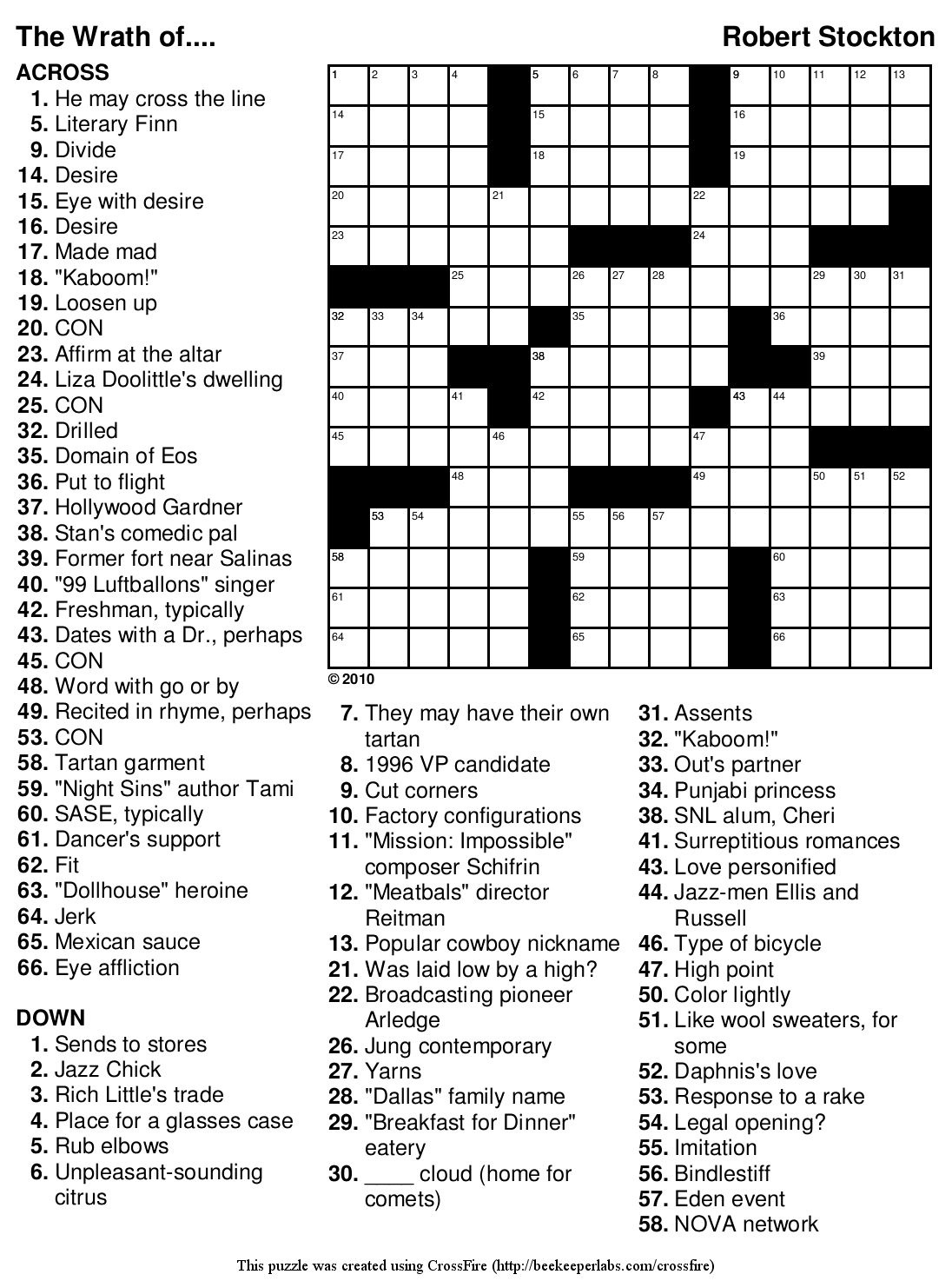 Marvelous Crossword Puzzles Easy Printable Free Org | Chas's Board - Free Printable Crossword Puzzles