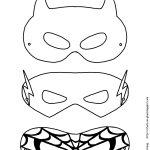 Mask Printable | Free Printable Superhero Mask Template | Masks   Free Printable Superhero Masks
