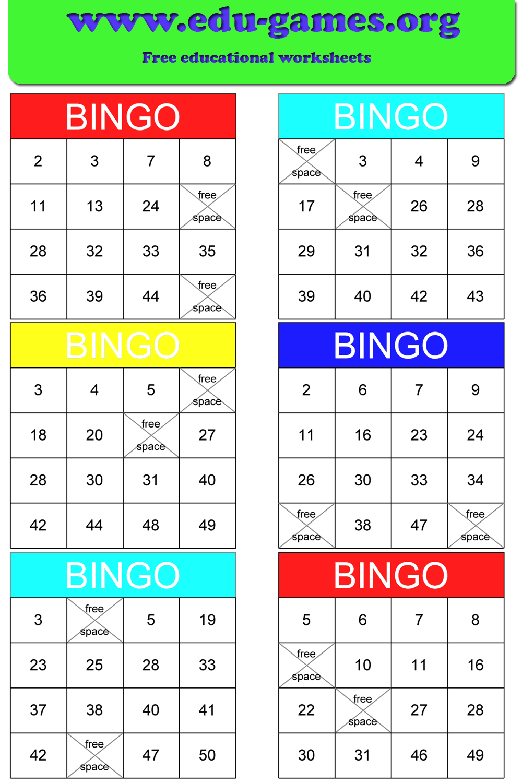 Math Bingo | Free Printable Pdf Math Bingo Cards - Math Bingo Free Printable
