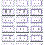 Math Games: 20+ Addition And Subtraction Games For Elementary   Free Printable Addition Flash Cards