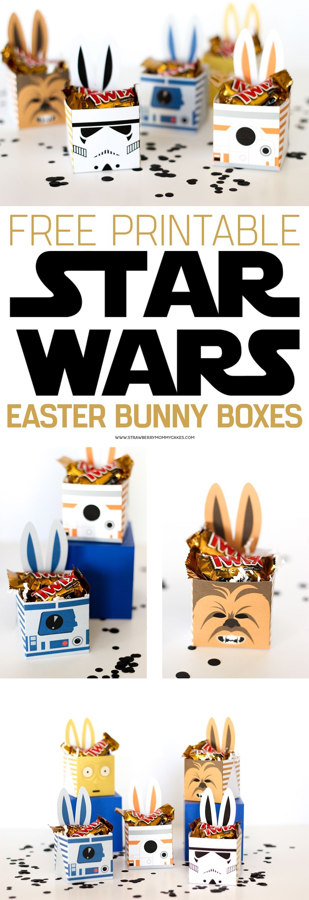 May The Force Be With You This Easter With These Fun Star Wars - May The Force Be With You Free Printable
