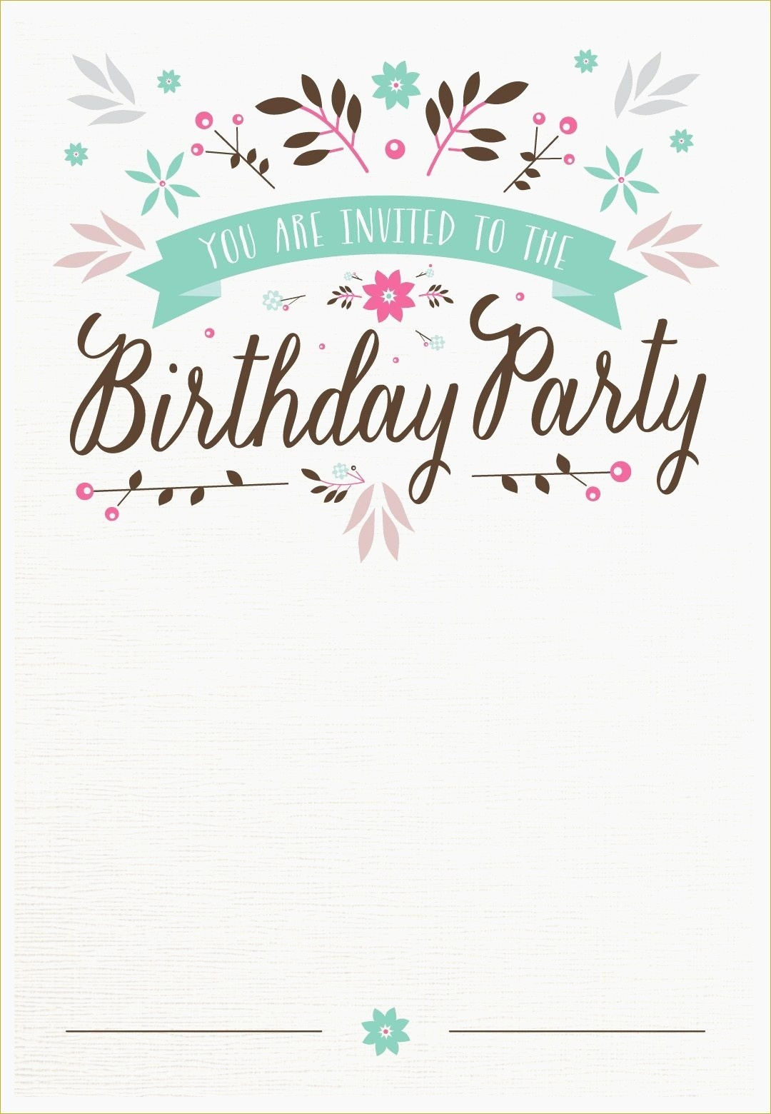 Mermaid Birthday Invitations Diy Diy 16 | Wadatlanta - Mermaid Birthday Invitations Free Printable