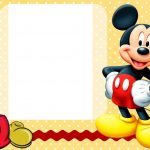 Mickey Mouse Clubhouse Invitation Template Free Download | Do It   Free Printable Mickey Mouse Invitations