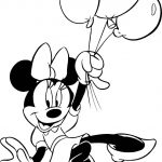 Minnie Mouse Coloring Pages   Free Download Best Minnie Mouse   Free Printable Minnie Mouse Coloring Pages