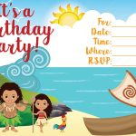 Moana Invitation   Free Printable Moana Birthday Invitations   Viva   Free Moana Printable Invitations