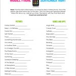 Mobile Phone Scavenger Hunt   Free Printable | A Fierce Flourishing   Over The Hill Games Free Printable