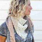 Modern, Free Lion Brand Mandala Crochet Scarf Pattern   Free Printable Crochet Scarf Patterns
