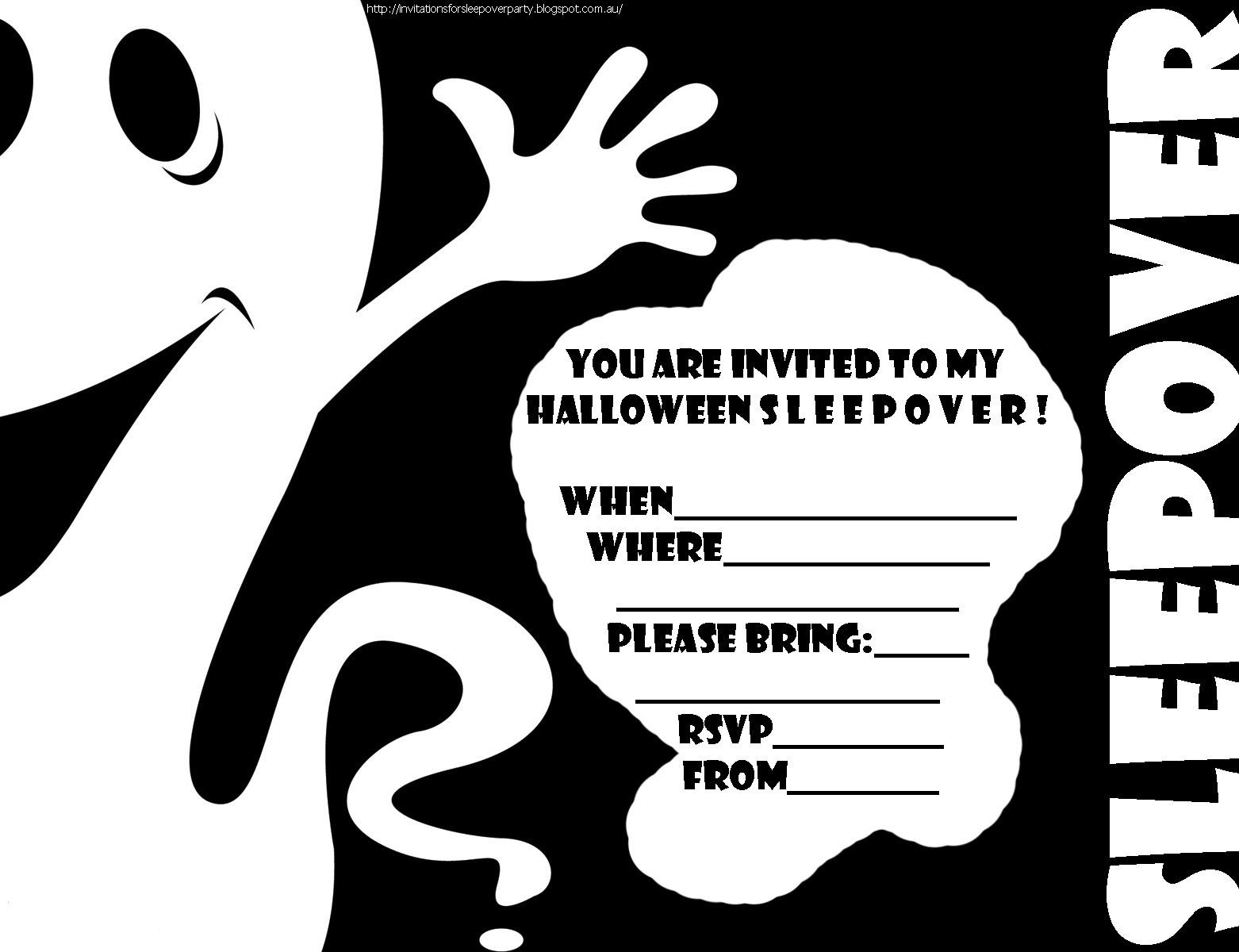 Modern Printable Halloween Birthday Invitations Images - Invitation - Halloween Invitations Free Printable Black And White