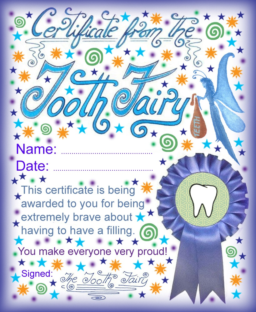 Modern Tooth Fairy Certificates | Rooftop Post Printables - Free Printable Tooth Fairy Certificate