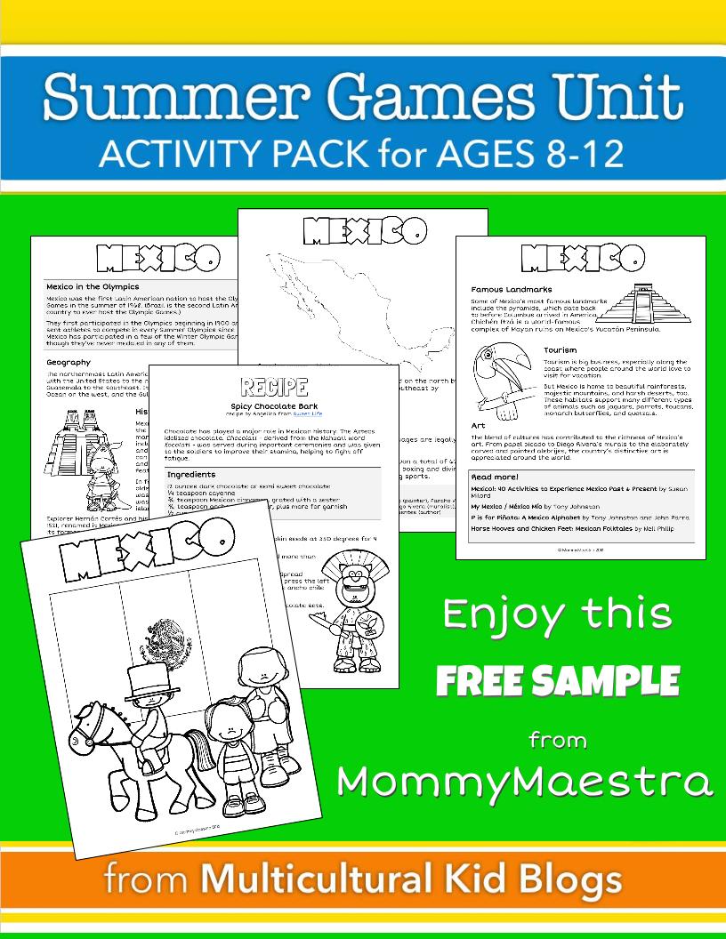 Mommy Maestra: Comprehensive Summer Games Unit & Free Printable - Free Printable Summer Games