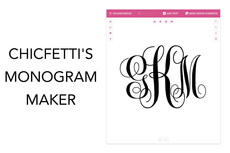 Monogram Maker - Make Your Own Monograms Using Our Free Online Maker - Free Printable Monogram Letters