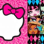 Monster High: Invitations And Party Free Printables. | Father's Day   Free Printable Monster High Stickers