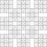 Monster Sudoku 16X16 Printable | Www.topsimages | Printable Monster   Sudoku 16X16 Printable Free