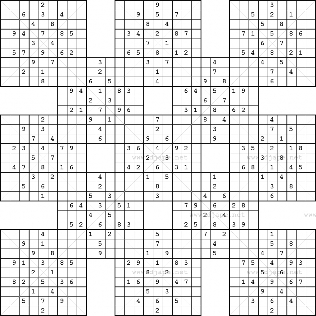It's just a picture of Selective Monster Sudoku Printable