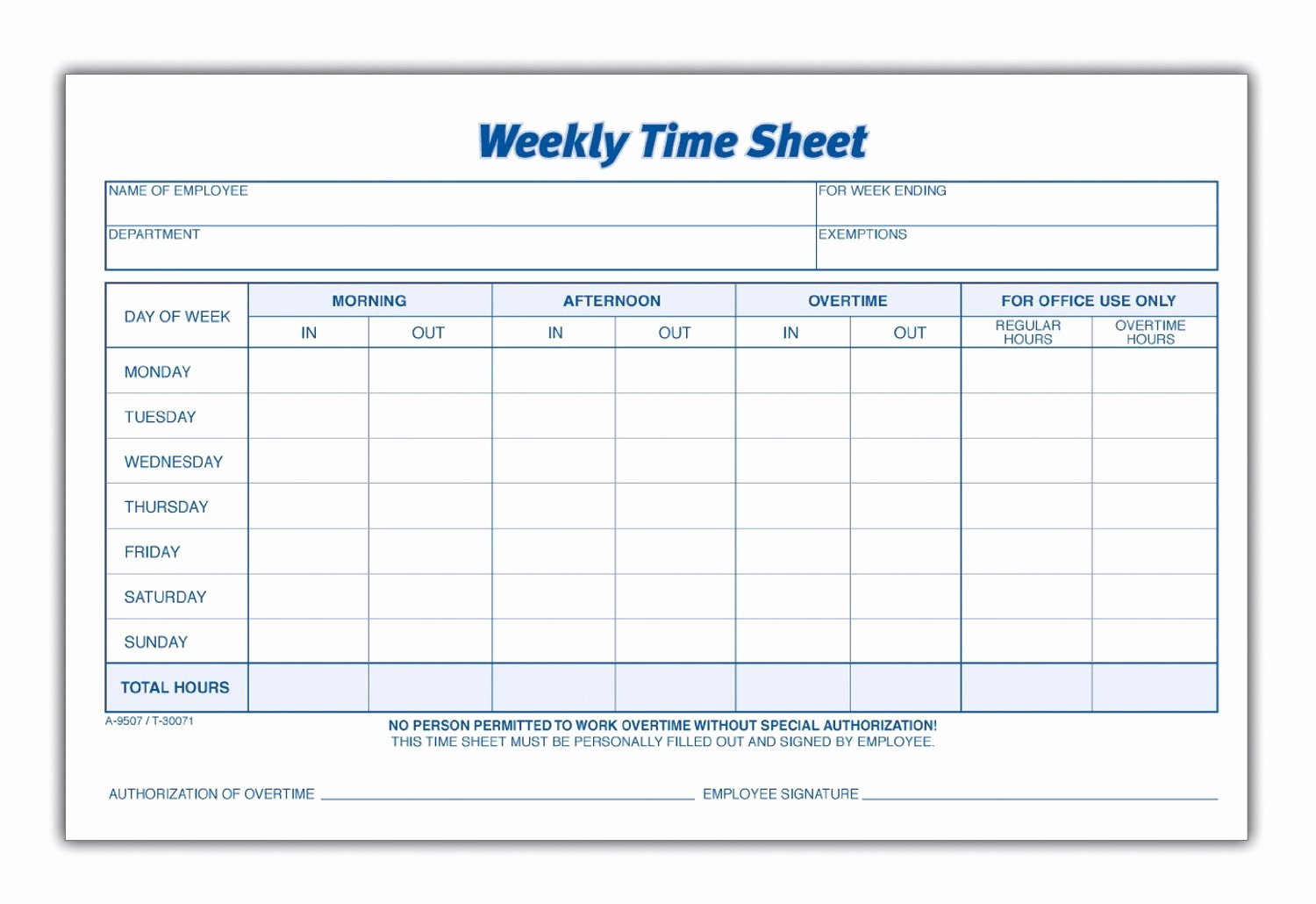 Multiple Employee Timesheet Template Free Then 8 Best Of Blank - Free Printable Blank Time Sheets