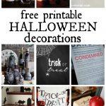 Musings Of An Average Mom: Free Printable Halloween Decorations   Free Printable Halloween Decorations