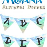 Musings Of An Average Mom: Moana Birthday Banner   Free Printable Moana Banner
