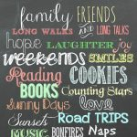 My Favorite Free Chalkboard Fonts + A Free Printable   Top Pins From   Free Printable Fonts