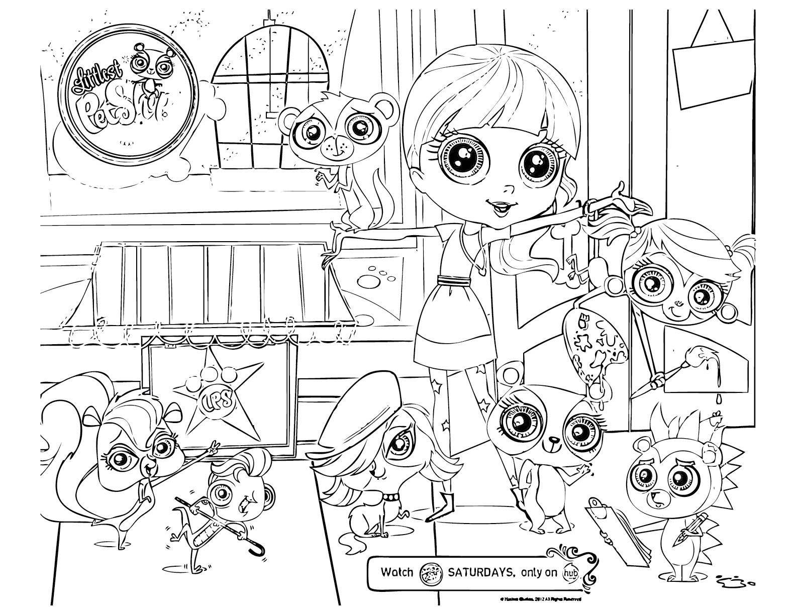 My Littlest Pet Shop Coloring Pages | Free Printable Coloring Pages - Littlest Pet Shop Free Printable Coloring Pages
