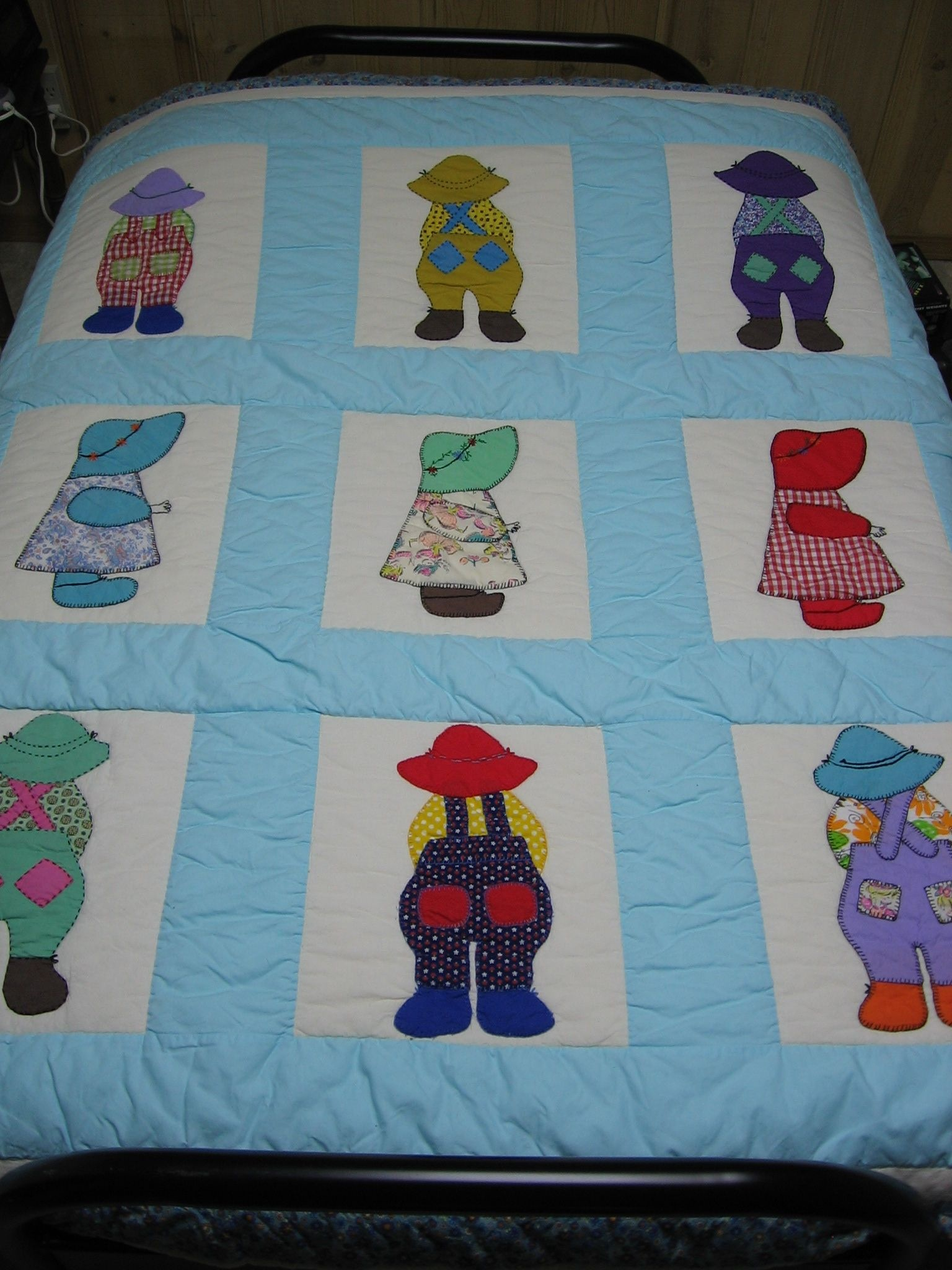My Mother's Dutch Boy And Girl Quilt Blocks That She Made In Her - Free Printable Dutch Girl Quilt Pattern