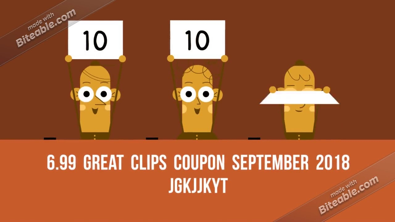 New} 6.99 Great Clips Coupon ( 2$ Off) 2018 *printable - Youtube - Great Clips Free Coupons Printable