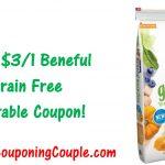 New Beneful Printable Coupon ~ $3.00/1 Beneful Grain Free Dog Food!   Free Printable Dog Food Coupons