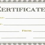 New Free Printable Massage Gift Certificate Templates | Best Of Template   Free Printable Gift Certificate Templates For Massage