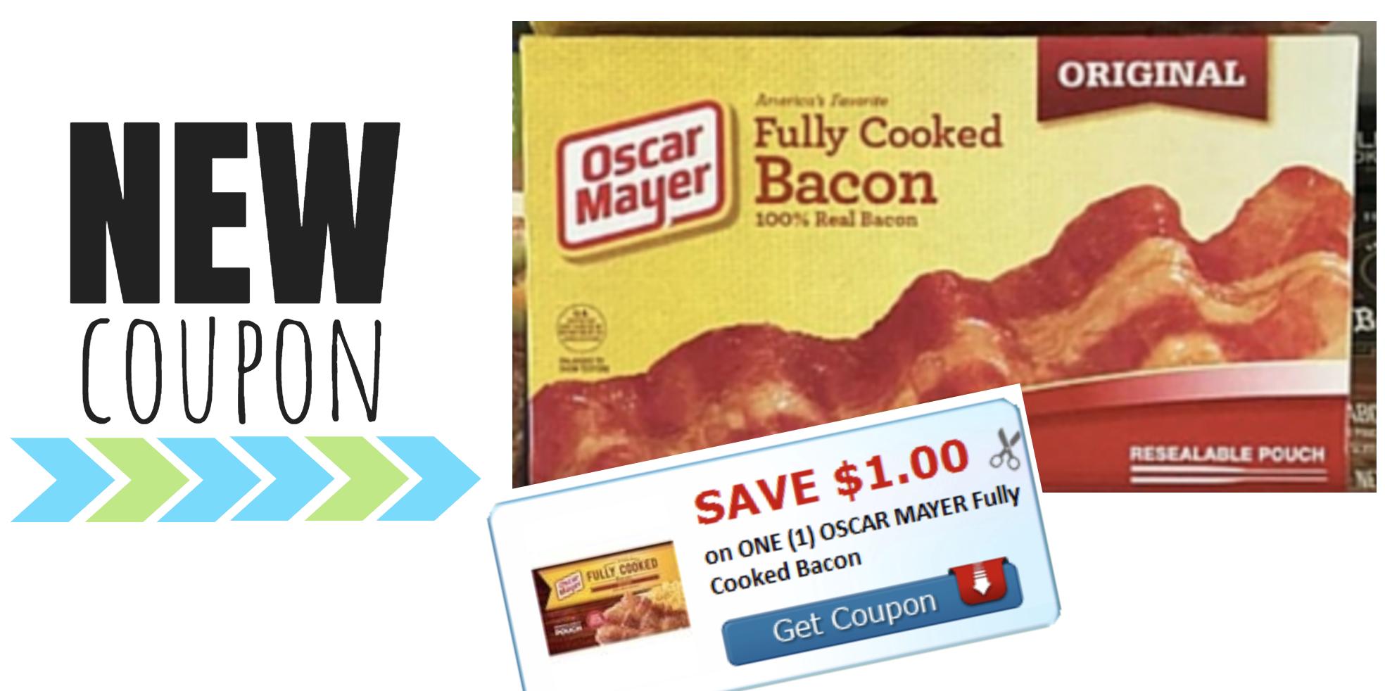 New Oscar Mayer Bacon Coupon - Moola Saving Mom - Free Printable Oscar Mayer Coupons