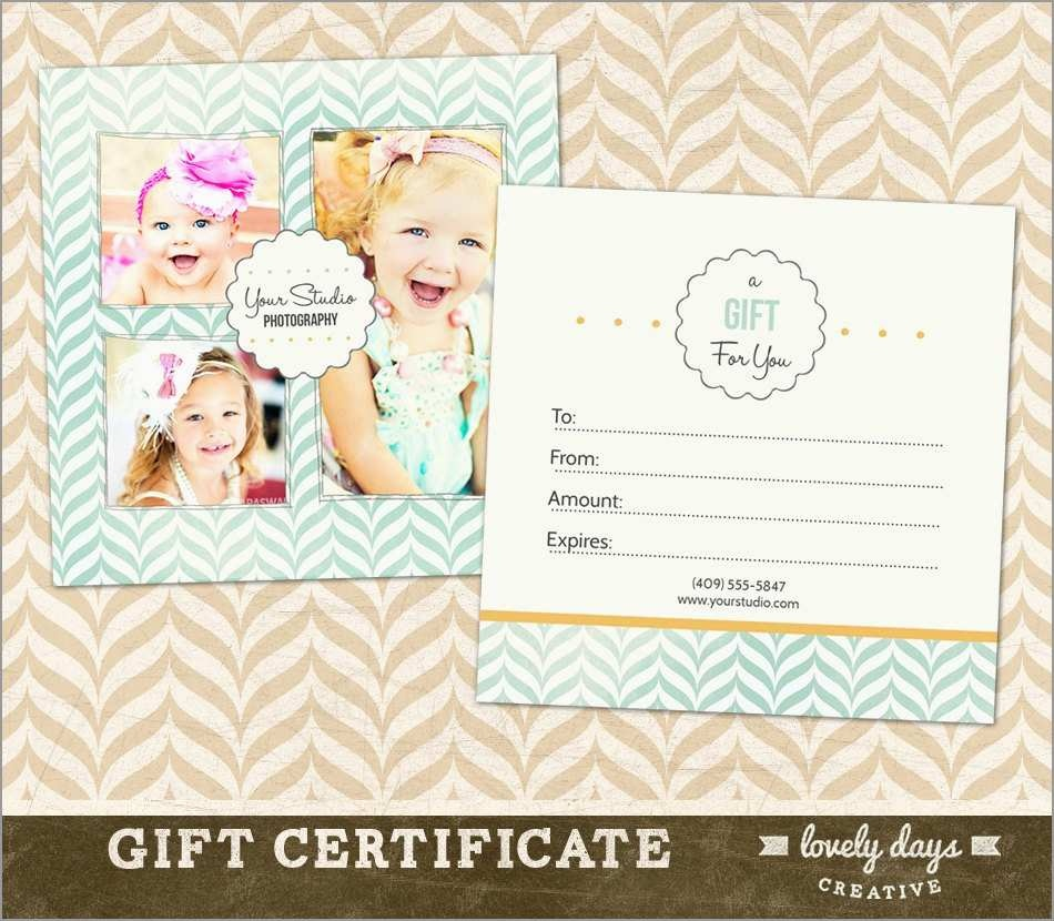 New Photography Gift Certificate Template Free | Best Of Template - Free Printable Photography Gift Certificate Template