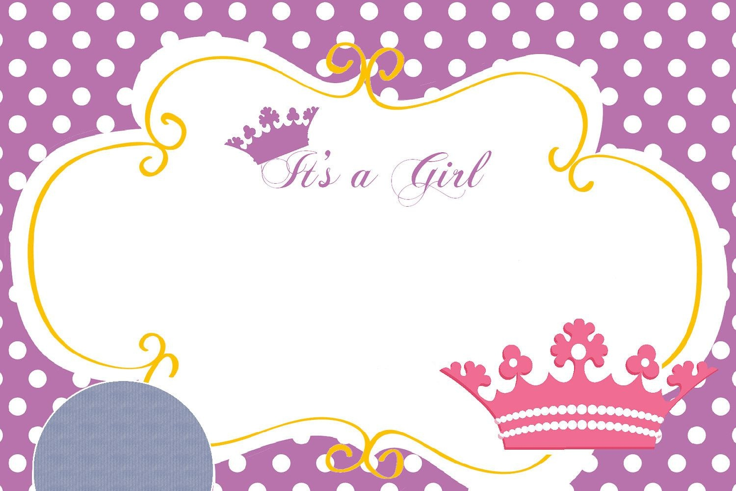 Nice Princess Themed Baby Shower Ideas And Invitation - Free - Free Printable Princess Baby Shower Invitations