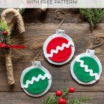 No Sew Easy Felt Christmas Ornaments   The Artisan Life   Free Printable Christmas Ornament Patterns